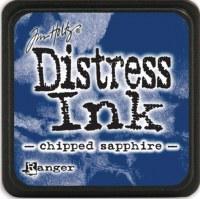 Mini encreur distress CHIPPED SAPPHIRE