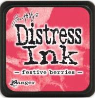 Mini encreur distress FESTIVE BERRIES