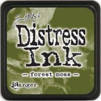 Mini encreur distress FOREST MOSS