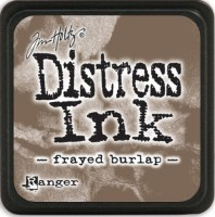 Mini encreur distress FRAYED BURLAP