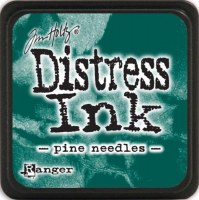 Mini encreur distress PINE NEEDLES