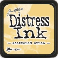 Mini encreur distress SCATTERED STRAW