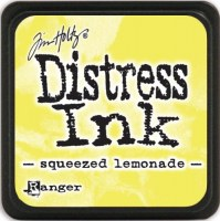 Mini encreur distress SQUEEZED LEMONADE