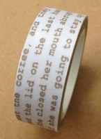 Masking tape NOVEL IDEA - Love my tapes