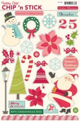 {Holiday style}Chipboards autocollants VARIETY - O.Afternoon