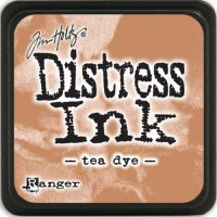 Mini encreur distress TEA DYE