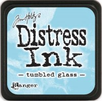 Mini encreur distress TUMBLED GLASS