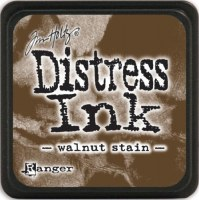 Mini encreur distress WALNUT STAIN