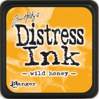 Mini encreur distress WILD HONEY
