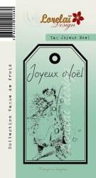 {Vague de froid}Tampon clear TAG JOYEUX NOEL - Lorelaï
