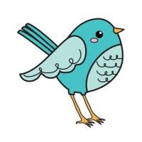 Tampon clear BIRD - Imaginisce