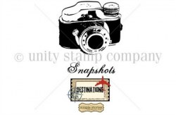 Tampon monté sur mousse SNAPSHOTS - Unity stamp