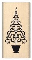 Tampon bois SAPIN BAROQUE - Florilèges