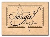 Tampon bois DE LA MAGIE DANS L'AIR - Florilèges