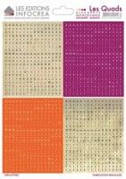 Stickers alphabet LES QUADS COMBO N°12 - Sultane