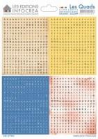 Stickers alphabet LES QUADS COMBO N°9 - Sultane