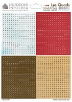 Stickers alphabet LES QUADS COMBO N°7 - Sultane