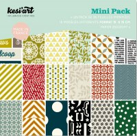 Mini pack 15x15 cm EDITO - Kesi'art