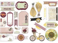 {Beautiful dreamer}Die cuts NOTEWORTHY - Bo Bunny