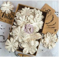 Boxed flowers DOCUMENTED BEAUTY + tags -Prima