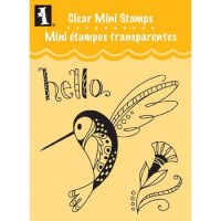 Tampon clear HELLO HUMMINGBIRD - Inkadinkado