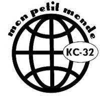 Tampon monté sur mousse MON PETIT MONDE - Kesi'art