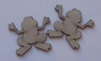 Chipboards MINI FROGS 10 pièces - Dusty attic
