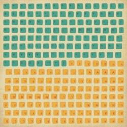 {Technologic}Stickers KEYBOARD - Kaisercraft