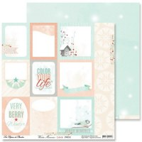 {Winter memories}Labels - Pandore