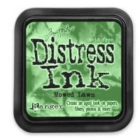 Distress ink MOWED LAWN