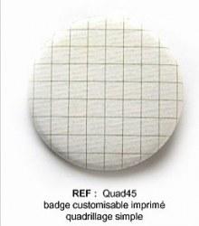 Badge QUAD 45mm - ScrapButtons