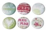 6 badges BULLE DE FRAICHEUR - Scrapinerie