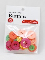 Boutons MATERIAL GIRL - Cosmo cricket
