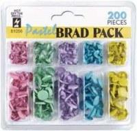 Pack 200 brads - Modèle pastel