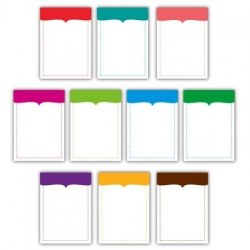 Chic journaling tags BRIGHT - Elle's studio