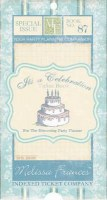 Carnet de tickets CELEBRATION - Melissa Frances