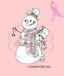 Tampon clear PEEK-A-BOO SNOWBABY - Belles'n whistles
