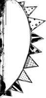 Tampon bois FUN FLAGS - Art gone wild