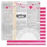 {Secret crush}Love notes - Pink paislee