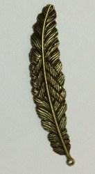 Charm GRANDE PLUME bronze