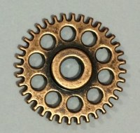 Charm ENGRENAGE STEAMPUNK bronze