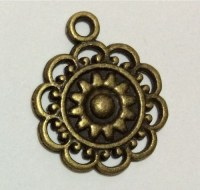 Charm TOURNESOL bronze