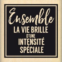 {Pur éclat}Tampon bois INTENSITE SPECIALE - Florilèges