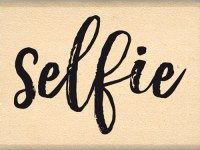{Instants selfie}Tampon bois SELFIE BRUSH - Florilèges