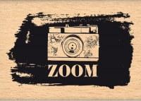 {Instants selfie}Tampon bois ZOOM GRUNGE - Florilèges