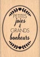 {Capsule avril 2016}Tampon bois OVAL PETITES JOIES - Florilèges