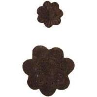 Fleurs feutrine marron - Heidi Swapp