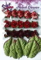 Mini roses ROUGE - Ohlala