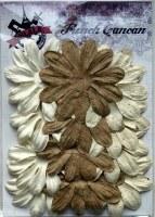 Fleurs LONGS PETALES NATUREL BRUN - Ohlala