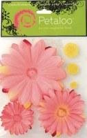 Layered daisies PINK - Petaloo